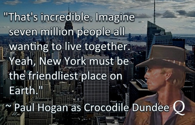 Crocodile Dundee Quote