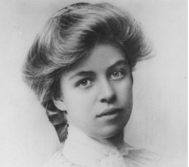 Eleanor Roosevelt as a student