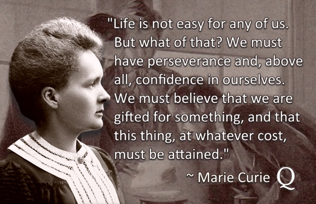 Marie Curie Featured Image