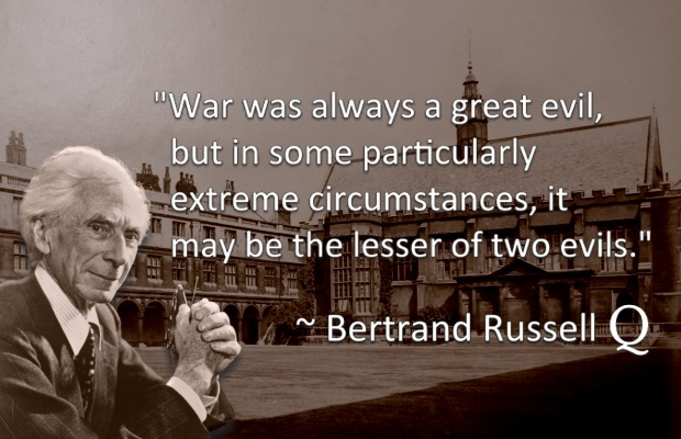 Bertrand Russell on War